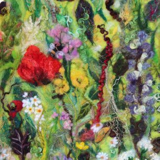 Tartan of Flowers giclee art print