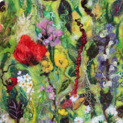 Tartan of Flowers giclee art print