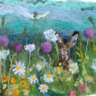 summer hares original artwork for collection