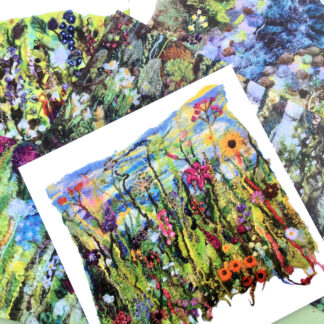 Inspired by Barnsdale Gardens Printed Card Set of 5