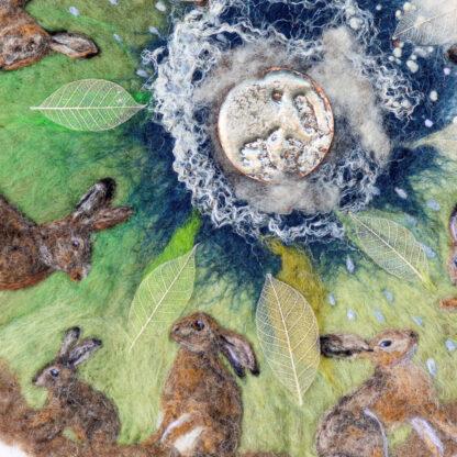 Hare Calendar Original Framed Artwork for Collection