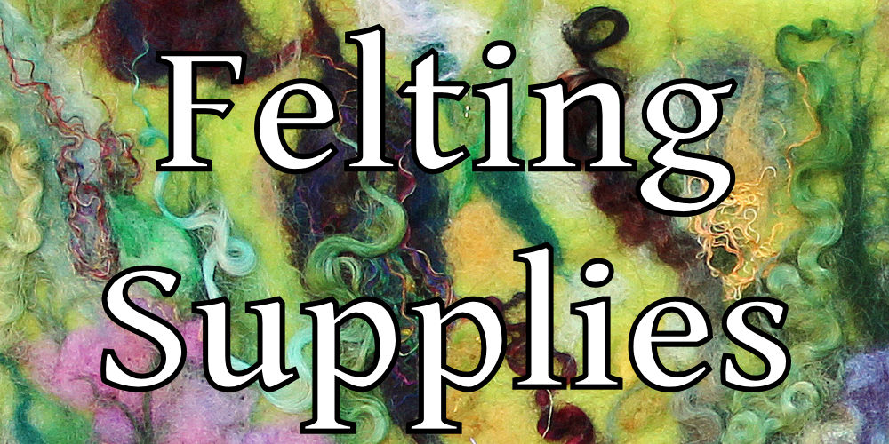 Buy Felting supplies  in my Online Shop