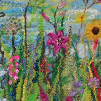 Floral Blush Original Framed Artwork for Collection