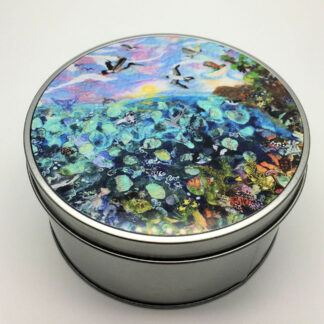 Great Barrier Reef Round Metal Tin