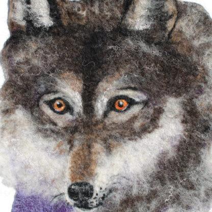 wolf giclée print