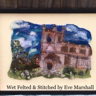 Aslackby Church Original Framed Artwork for Collection