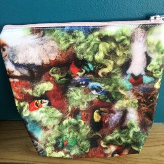 bird zip pouch