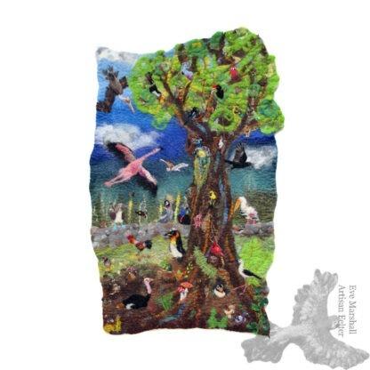 The Odd Bird Tree II original