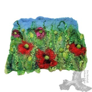 Garden Poppies Original Artwork