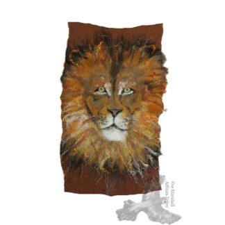 Lion Original Art