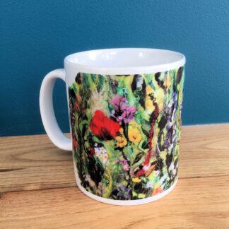 Tartan of Flowers 10 oz Ceramic Mug