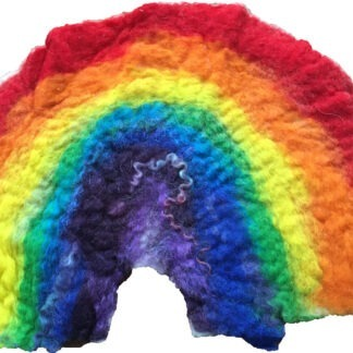 felting rainbow kit