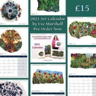 2021 Eve Marshall: Artisan Felter Calendar