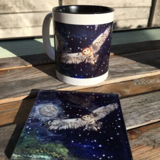Owl Moon Mug & Coaster Gift Set