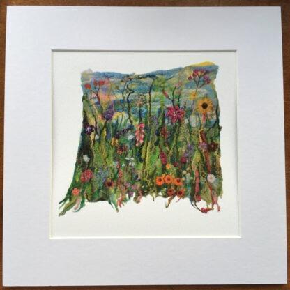 Mini Felted Art Giclee Print