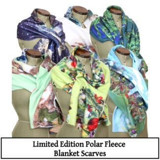 Fleece Blanket Scarves