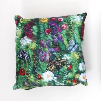Blooming Butterflies Cushion