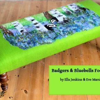 badgers in bluebells
