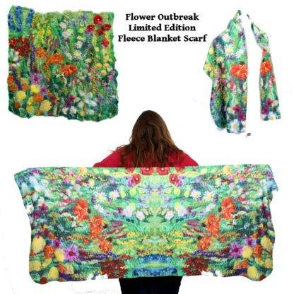 Flower Outbreak scarf