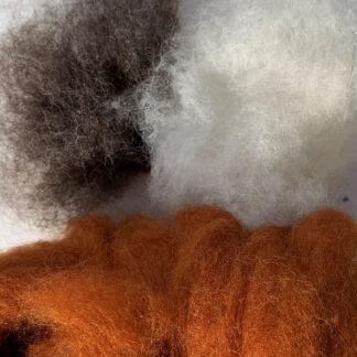 wool bundle: auburn fox