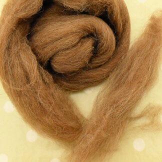 Brown Shetland Wool 100 gram bag