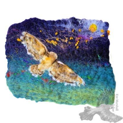 Soaring Owl Original Artwork