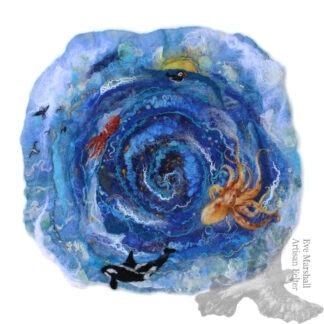 Fishes Cycle Original Artwork