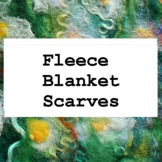 Fleece Blanket Scarves