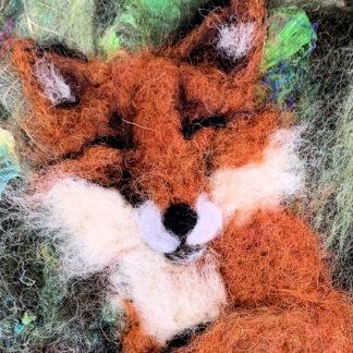 Sleeping Fox Original Artwork