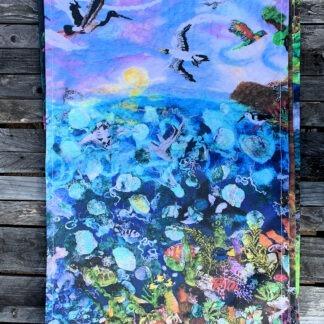 The Great Barrier Reef Organic Cotton Tea Towel