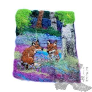 Fox Cubs Original Artwork