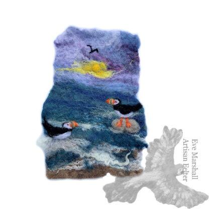 puffin original artwork