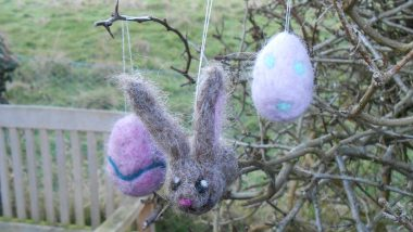 Needle Felted Easter Workshop by Eve Marshall