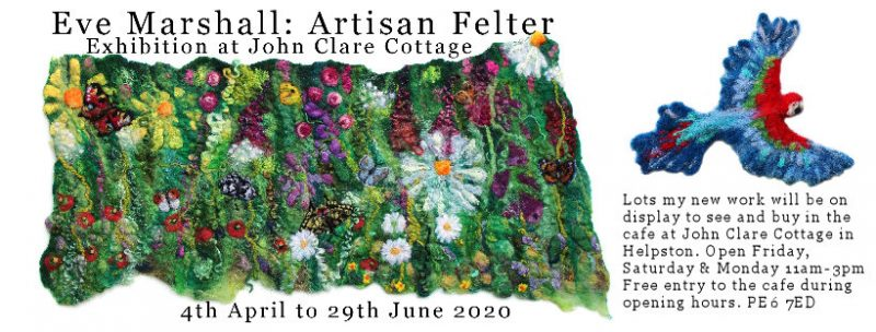 Upcoming Exhibition at John Clare Cottage in Helpston