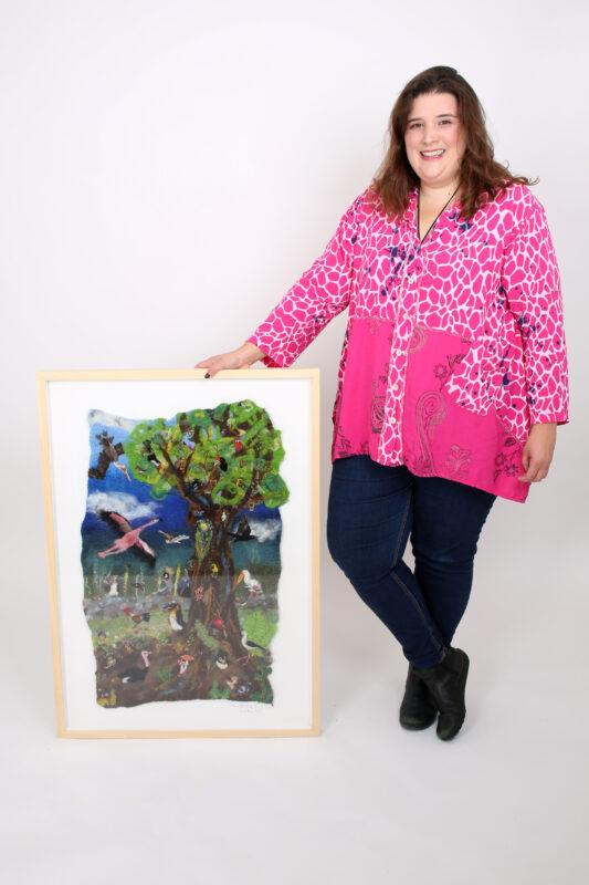 Eve Marshall Odd Bird Tree II