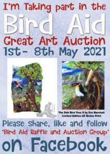 bird aid art auction